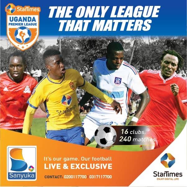 StarTimes Uganda Premier League Fixtures released – Zaabu Media